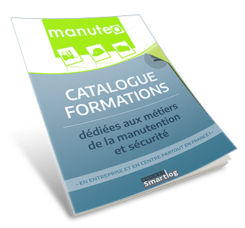 Catalogue de formations : métiers manutention et sécurité.