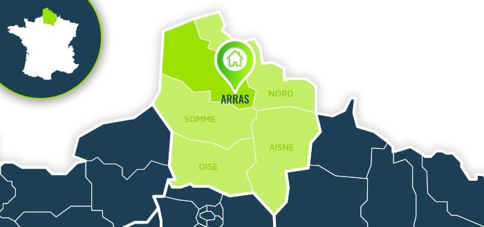 Centre de formation : Arras / Pas-de-Calais.