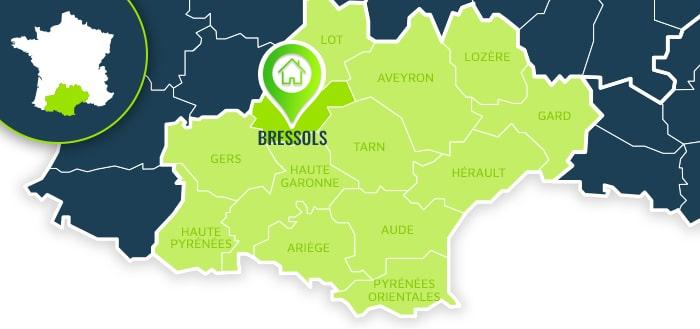 Centre de formation : Bressols / Tarn-et-Garonne.