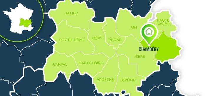 Centre de formation : Chambéry / Savoie.
