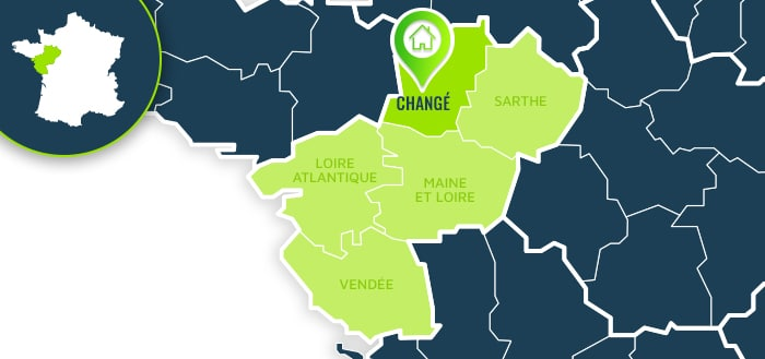 Centre de formation : Changé / Mayenne.