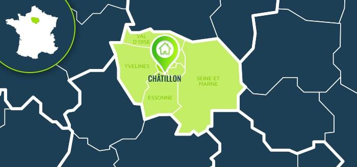 Centre de formation : Châtillon / Hauts-de-Seine.