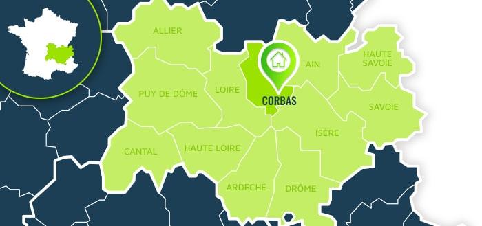 Centre de formation : Corbas / Rhône.