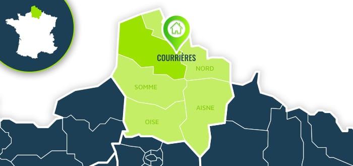 Centre de formation : Courrières / Pas-de-Calais.
