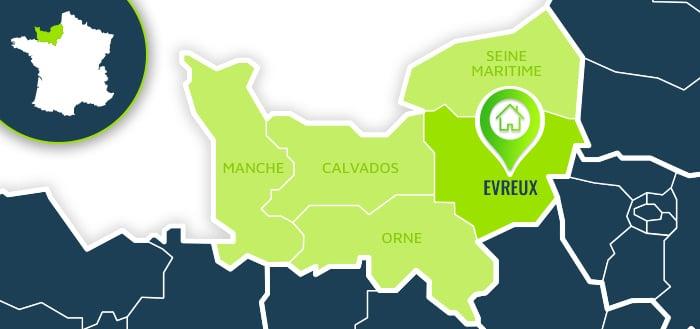 Centre de formation : Evreux / Eure.