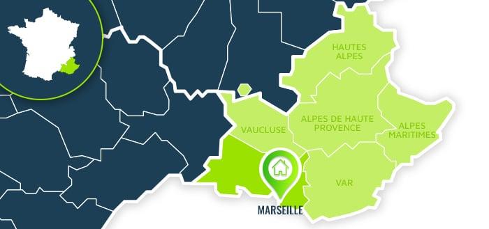 Centre de formation : Marseille / Bouches-du-Rhône.