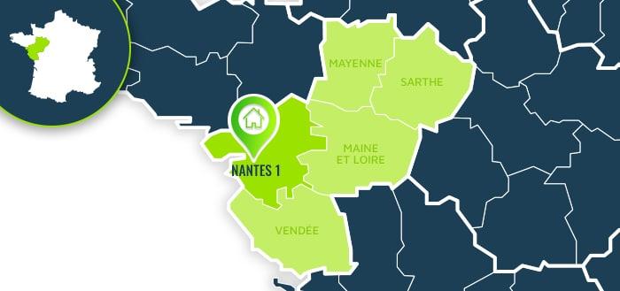 Centre de formation : Nantes 1 / Nouvelle Aquitaine.