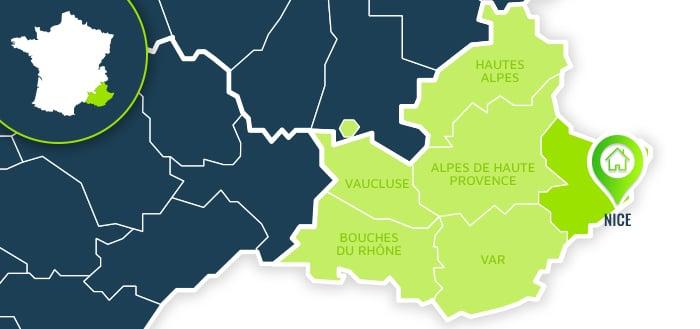 Centre de formation : Nice / Alpes Maritimes.