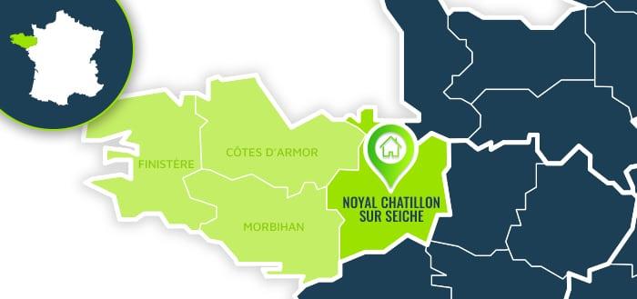 Centre de formation : Noyal Chatillon sur Seiche / Ille-et-Vilaine.