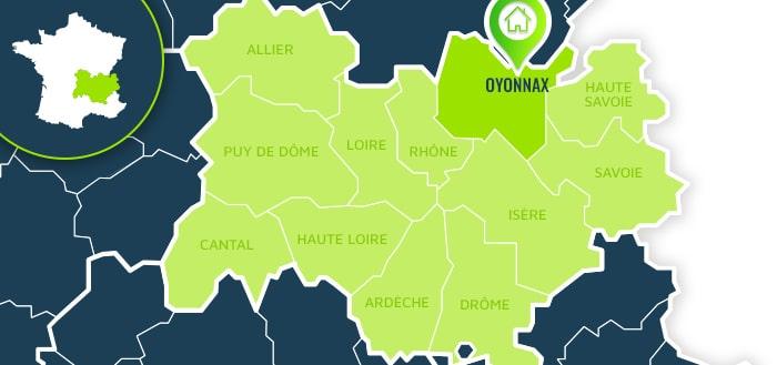 Centre de formation : Oyonnax / Ain.