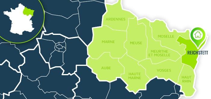 Centre de formation : Reichstett / Bas-Rhin.