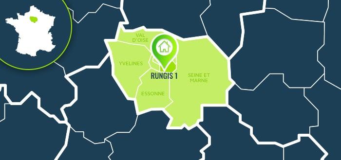 Centre de formation : Rungis 1 / Val-de-Marne.
