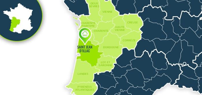 Centre de formation : Saint Jean d'Illac / Gironde.