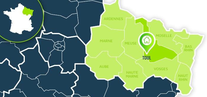 Centre de formation : Toul / Meurthe-et-Moselle.