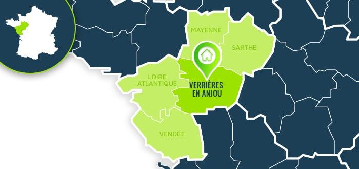 Centre de formation : Verrières en Anjou / Maine-et-Loire.