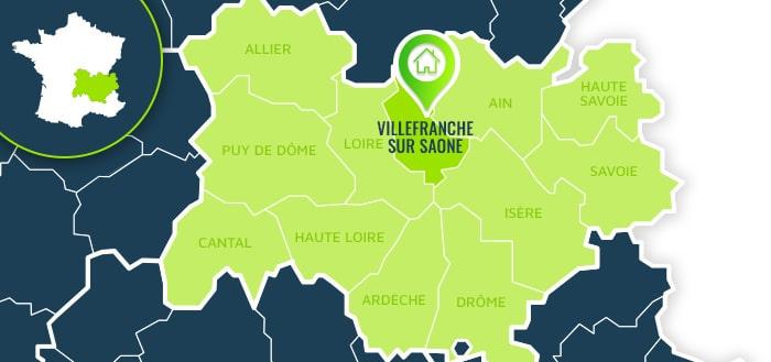 Centre de formation : Villefranche sur Saône / Rhône.