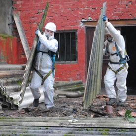 Formation amiante sous-section 4 pour encadrement de chantier