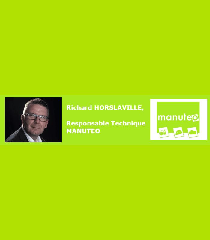 Actualités : Nomination de Richard HORSLAVILLE, Responsable technique Manuteo