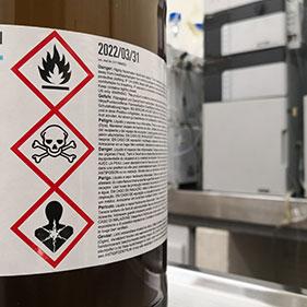 Formation sensibilisation aux risques chimiques
