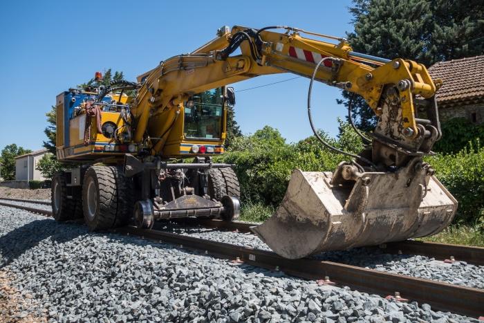 Actualité : Une voie ferrée pour le CACES R482 cat. B3 chez MANUTEO